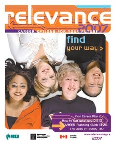 Relevance Magazine 2007 cover page