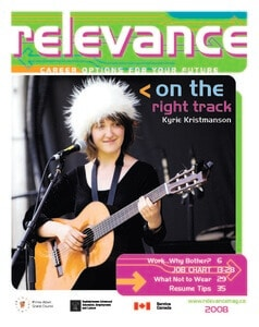 Relevance Magazine 2008 cover page