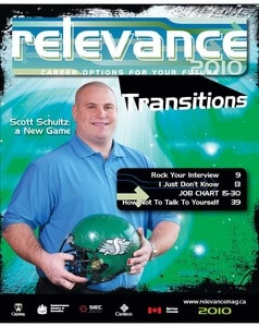 Relevance Magazine 2010 cover page