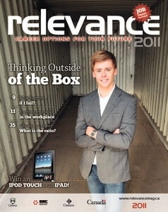 Relevance Magazine 2011 cover page