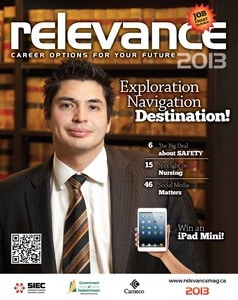 Relevance Magazine 2013 cover page