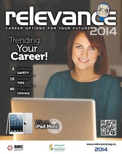 Relevance Magazine 2014 cover page