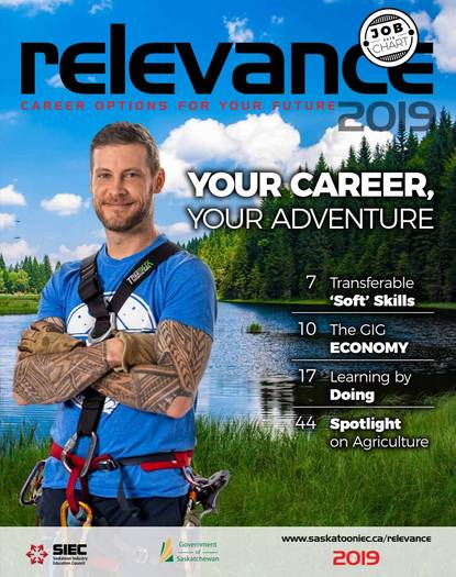 Relevance Magazine 2019 cover page