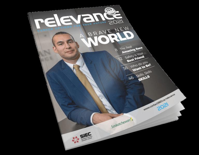 Relevance 2021 Magazine Cover